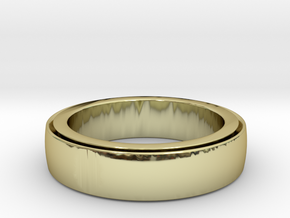 Ring Spinner  in 18k Gold Plated Brass: 6 / 51.5