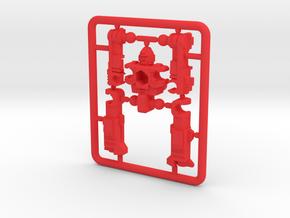 "MicroSlinger ""Flarestorm"" in Red Processed Versatile Plastic"