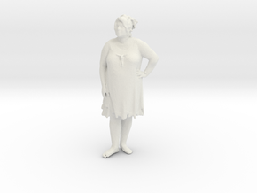 Printle C Femme 306 - 1/35 - wob in White Strong & Flexible