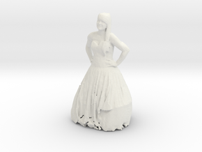 Printle C Femme 309 - 1/35 - wob in White Strong & Flexible