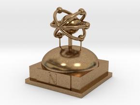 Nitrogen Atomamodel in Natural Brass