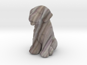 URNS Labrador Puppy 2mm White in Full Color Sandstone