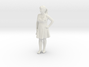 Printle C Femme 332 - 1/32 - wob in White Strong & Flexible
