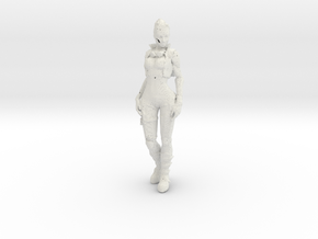 Printle C Femme 345 - 1/32 - wob in White Strong & Flexible