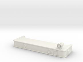 1/87 HME Bumper in White Natural Versatile Plastic