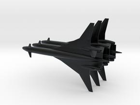 1/600 BOEING SONIC CRUISER 3 PACK in Black Hi-Def Acrylate
