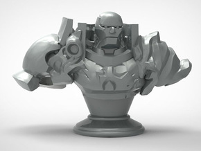 Golem Bust in White Strong & Flexible: Medium
