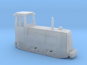Feldbahnlok UNIO LDI 45 Spur H0f 1:87 in Smooth Fine Detail Plastic