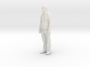 Printle C Homme 101 - 1/32 - wob in White Natural Versatile Plastic