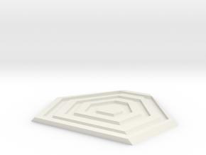 TASM 2 Web Trigger  in White Natural Versatile Plastic