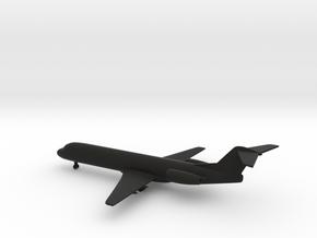 Fokker 100 in Black Natural Versatile Plastic: 1:350