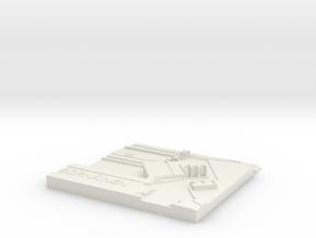 Sörnäinen Metroasema in White Natural Versatile Plastic