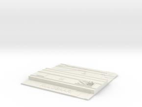 Kulosaari Metroasema in White Natural Versatile Plastic