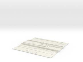 Siilitie Metroasema in White Natural Versatile Plastic