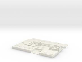 Myllypuro Metroasema in White Natural Versatile Plastic