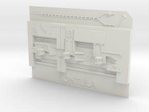 Kontula Metroasema in White Natural Versatile Plastic