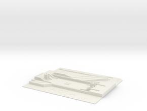 Puotila Metroasema in White Natural Versatile Plastic