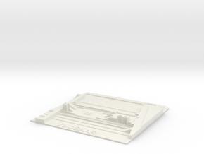 Vuosaari Metroasema in White Natural Versatile Plastic