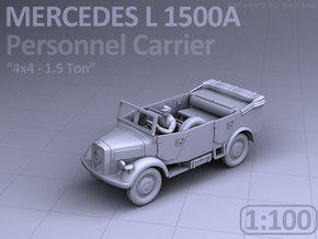 Mercedes L 1500 A - PERSONNEL CARRIER (1:100) in Frosted Ultra Detail