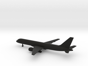Boeing 757-200 in Black Natural Versatile Plastic: 1:500