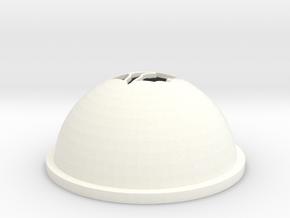 Cardinal Golf Ball Stencil in White Processed Versatile Plastic