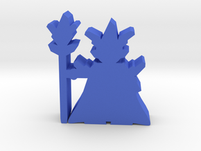 Game Piece, Crystal Emperor in Blue Processed Versatile Plastic