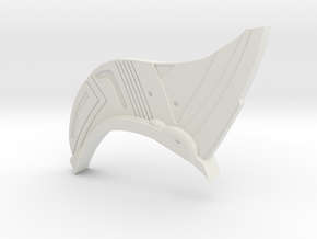 Yondu Udonta Prototype Head Fin in White Natural Versatile Plastic