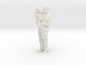 Printle C Couple 106 - 1/24 - wob in White Strong & Flexible