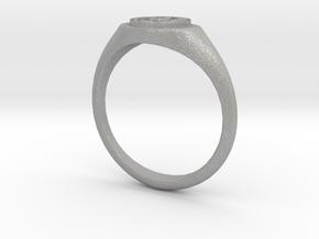 NTUA Female Ring in Aluminum