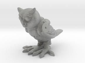 Mechanical Owl in Metallic Plastic