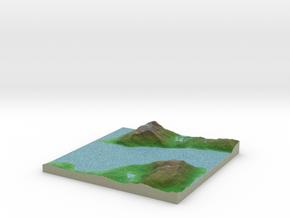 Terrafab generated model Wed Jun 28 2017 22:28:03  in Full Color Sandstone