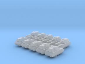 1/600 German Mauschen Heavy Tank x10 in Smoothest Fine Detail Plastic