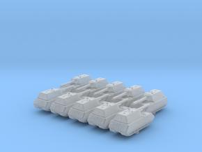 1/700 German Pz. Kpfw. VIII Maus Heavy Tank x10 in Smoothest Fine Detail Plastic
