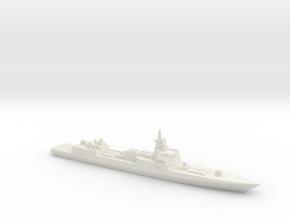 055 Destroyer (2017), 1/1800 in White Natural Versatile Plastic