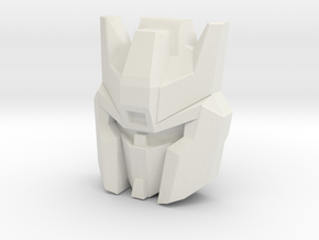 Skyfall Face (Titans Return) in White Natural Versatile Plastic