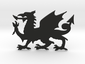 Welsh Dragon for Henry Morgan in Black Strong & Flexible