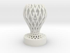 1/1 Mini Trophy in White Natural Versatile Plastic