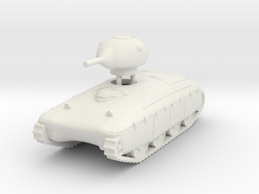 1/87 (HO) AMX-40 in White Natural Versatile Plastic