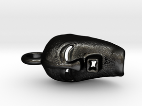 Mask 4D in Matte Black Steel