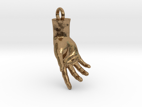 Hand Of Adam in Natural Brass