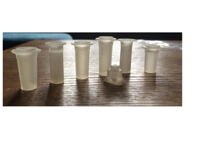 FR D1, J1, E1 - 7mm - Chimneys Kit in Smooth Fine Detail Plastic