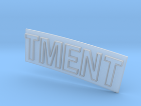 TMENT in Smooth Fine Detail Plastic