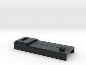 DB0011 SD40-2W ERH, Q Stk, Rblt 1/87.1 in Black Hi-Def Acrylate