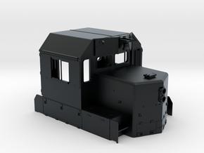 CN SD38-2 Cab Rebuilt 1/87.1 in Black Hi-Def Acrylate