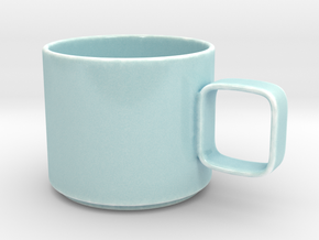 Classic Porcelain Mug  in Gloss Celadon Green Porcelain