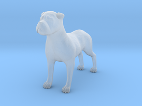 S Scale Watch Dog in Smooth Fine Detail Plastic