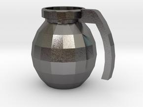 Mug of respect (Grenade F1) in Polished Nickel Steel