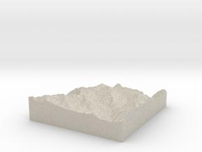 Model of Sphinx in Natural Sandstone