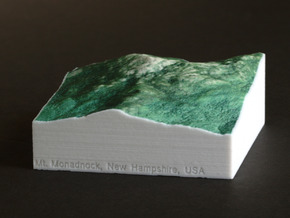 Mt. Monadnock, New Hampshire, 1:25000 Explorer in Full Color Sandstone