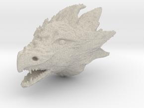 Dragonhead in Natural Sandstone
